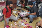 Lagi,  Kosmetik Ilegal diamankan Tim Opsnal Set Resnarkoba  Polresta Mataram
