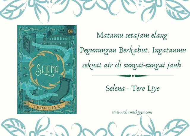 Novel Selena merupakan novel ke-8 dalam seri Bumi. Menceritakan tentang sosok Selena atau Miss Keriting