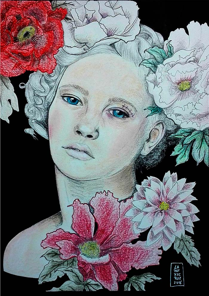 Ilustración, Mariantonieta de Patricia Cruz