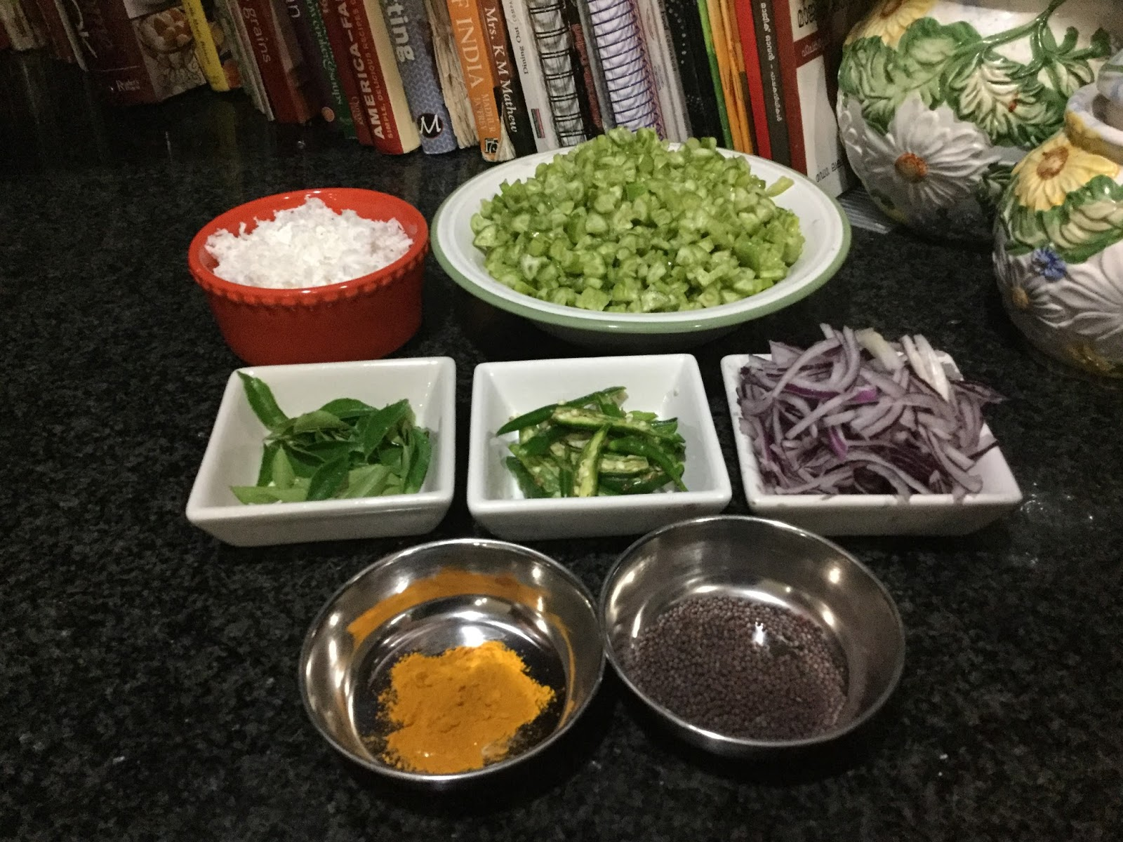 Cooking at Home: Kovakka Thoran ( Ivy Gourd stir fry with coconut)