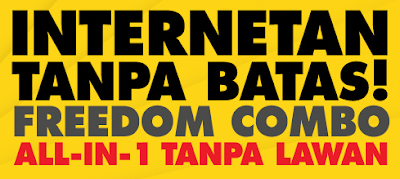 Cara Mendaftar Paket Internet Freedom Combo Indosat Ooredoo