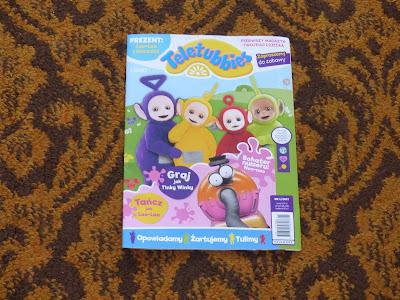 Egmont- Pismo dla dzieci TELETUBBIES