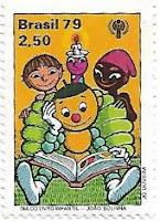 Selo Dia do Livro Infantil