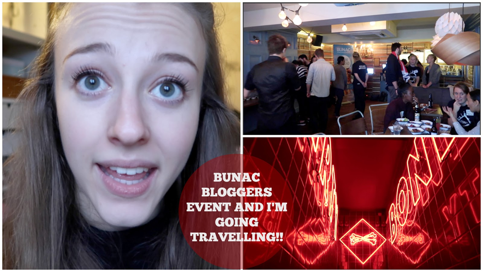 Vlogmas | BUNAC Bloggers Event and I'm Going Travelling!!