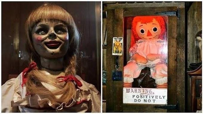 ¿MUÑECA ORIGINAL DE ANNABELLE DESAPARECIÓ DEL MUSEO WARREN?