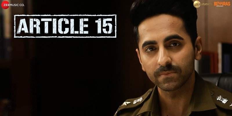 Article 15 Screen Count Advance Booking Report Poster