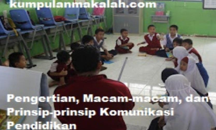 Komunikasi Pendidikan