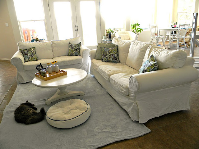 Home kids life ikea ektorp review continued 2 years later for Ikea loveseat reviews