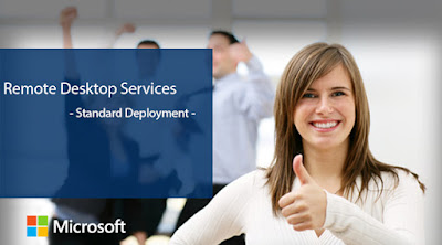 Remote Desktop Services - Standard Deployment