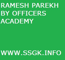 RAMESH PAREKH BY OFFICERS ACADEMY