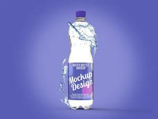 تحميل موك أب لزجاجات المياه Water Bottle Mockup6
