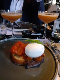 cocktails and burrata