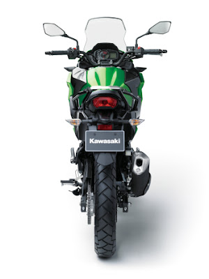 2017 Kawasaki Versys-X 300 Rear Look