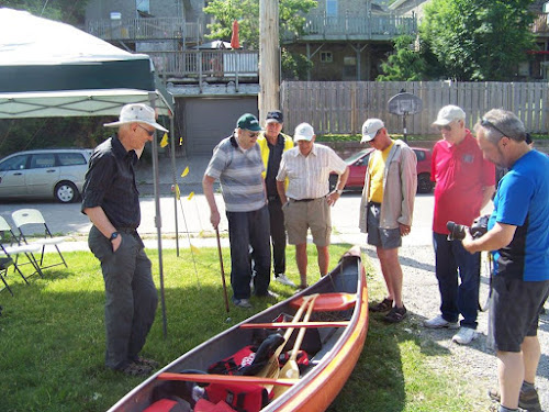 Bill Coleman at Coleman Canoes Reunion