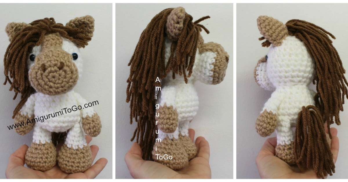 EN Amigurumi Workshop #11: Horse White Dream (by LittleOwlsHut ... | 630x1200