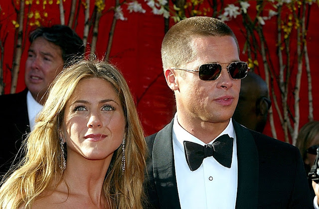 Brad Pitt and Jennifer Aniston cutest moments over the years