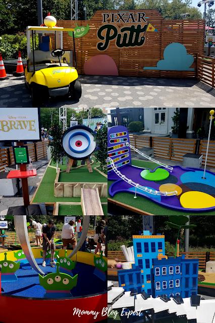 Pixar Putt PopUp National Mini Golf Tour