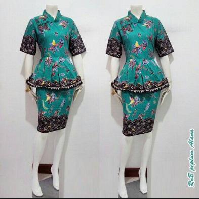 70+ Desain Baju Kerja Muslimah Modis Terbaru 2020, KEREN ...