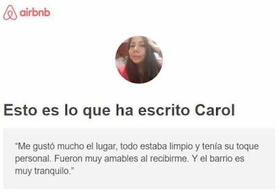 Recomendación de Carol