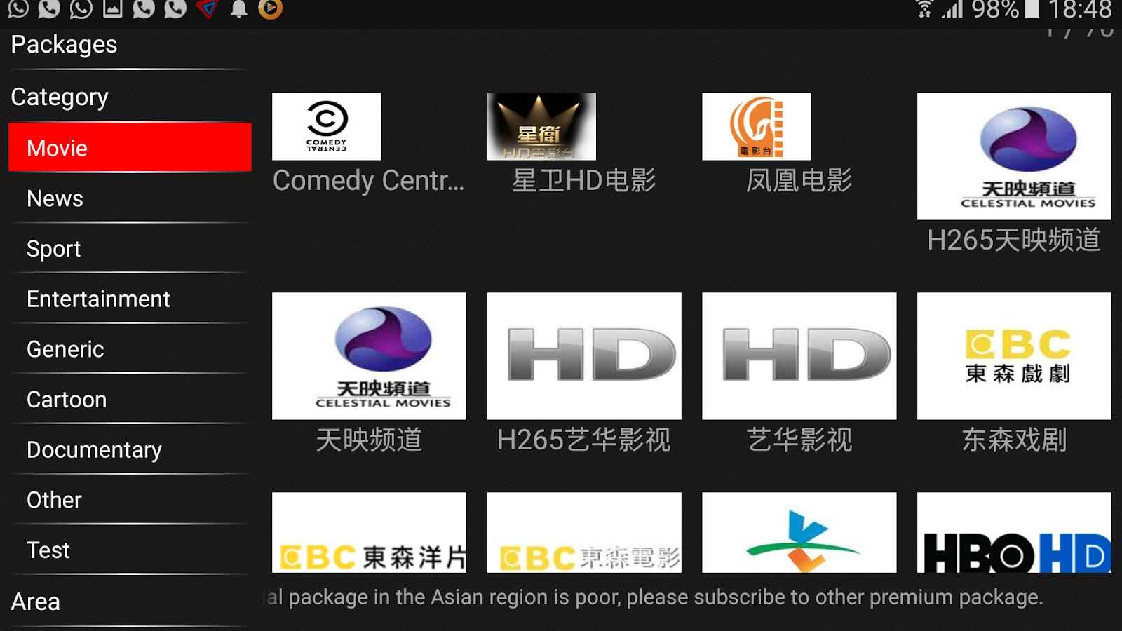 New Cloud Tv For Android Tv Box And All Android Devices