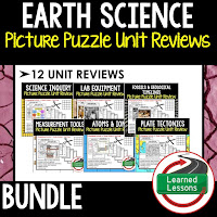 Earth Science Picture Puzzles, Test Prep