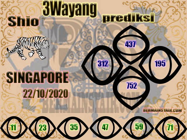 Kode syair Singapore Kamis 22 Oktober 2020 230