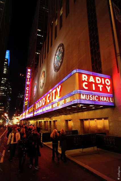 Radio city music hall-New York