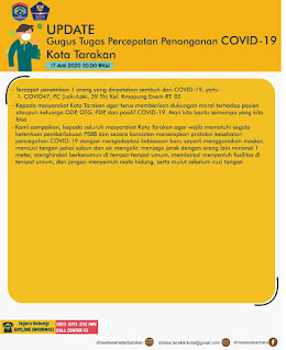 Press Release COVID-19 Tarakan 17 Juni 2020 - Tarakan Info