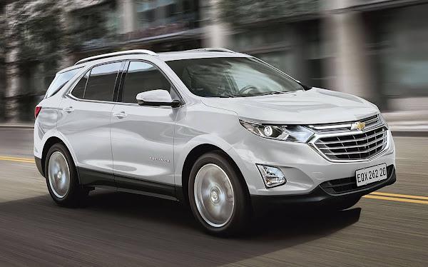 Chevrolet Equinox 2021 Premier chega com preço de R$ 189.900