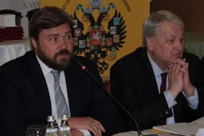 Konstantin Malofeev is the founder of the «TsargradTV», the Double-headed Eagle society & Reshetnikov GRU