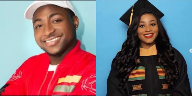 See Davido's Female Cousin That Graduates From US University with Colors