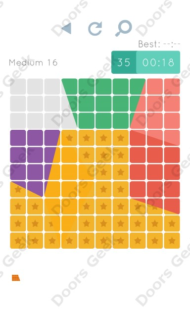 Cheats, Walkthrough for Blocks and Shapes Medium Level 16