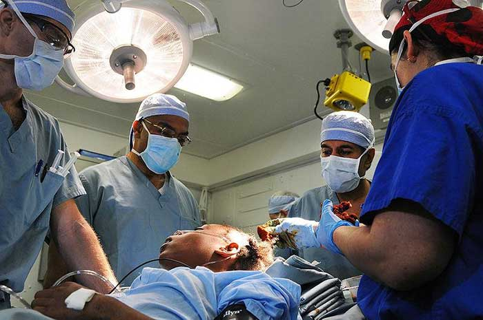 Salah Operasi Kepala