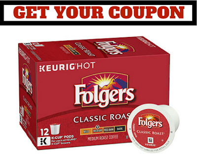 New COUPONS - Save $2 on Folgers K Cups - Mailed Coupon