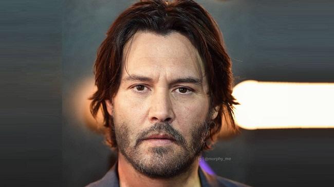 Keanu Reeves + Johnny Depp/Reprodução