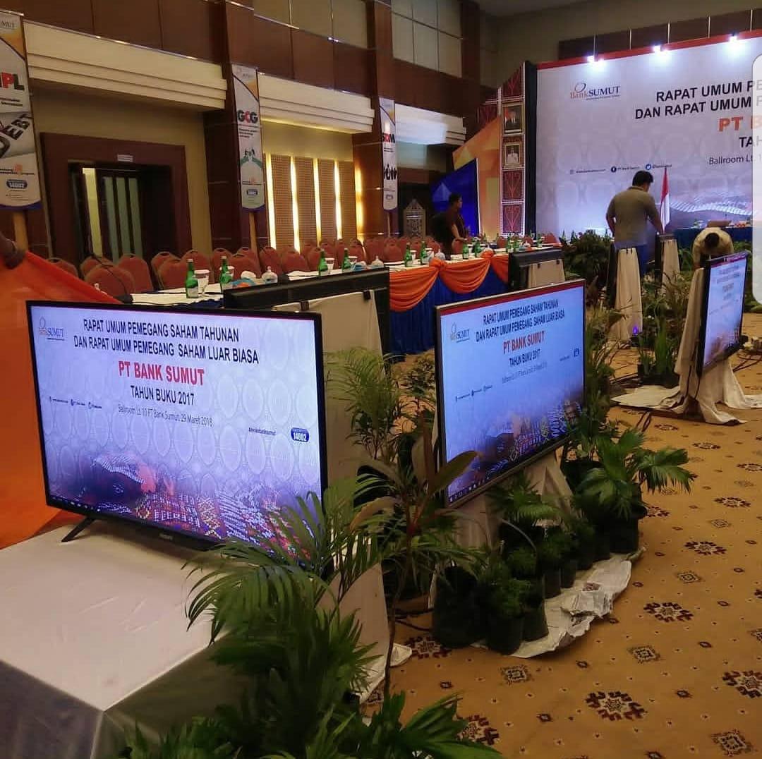 Hasil gambar untuk gambar sewa tv di medan indomedia