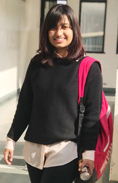 Ashleesh Sharma, a student of Manuscript International Institute, was selected in Geneva.