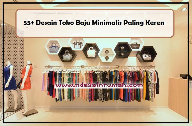 Desain Interior Toko Baju Minimalis Rumah Joglo Limasan Work