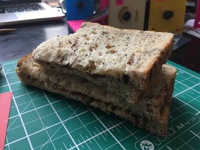 a Vegemite sandwich