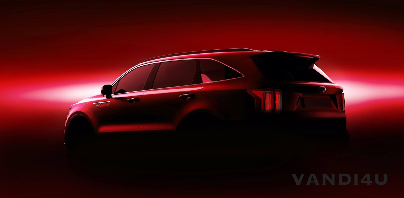 Kia Sorento will be revealed at the 2020 Geneva International Motor Show   VANDI4U
