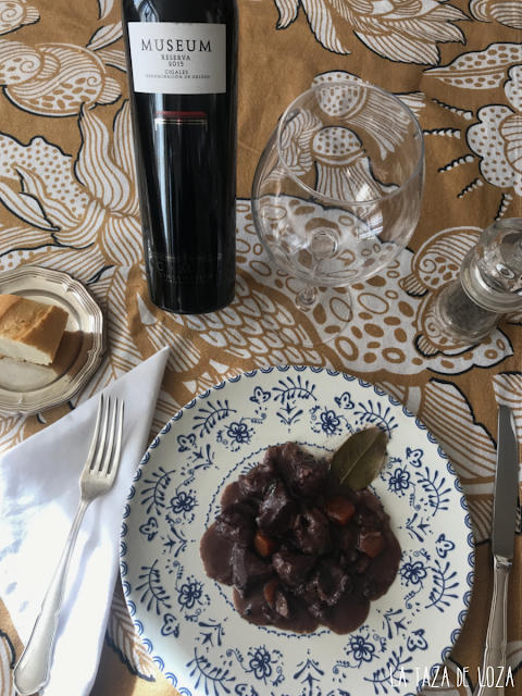 Carrilleras en salsa con vino Museum