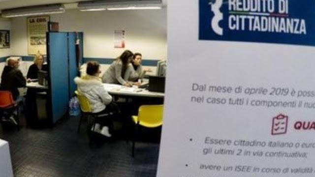 هام..بالتفصيل:طلبات دخل المواطنة بإيطاليا بلغت 1,5مليون،بينهم 6 %من المهاجرين فقط، بمعدل 482 يورو