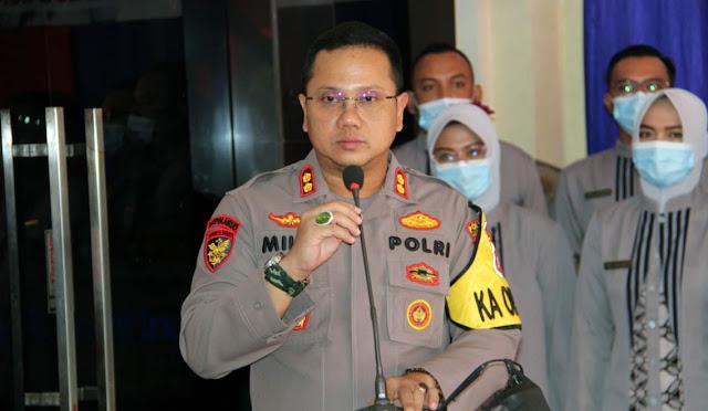Kapolres Lumajang AKBP Deddy Foury Millewa SH SIK M.IK.