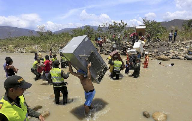 Dagens Nyheter, Colombia, Venezuela, border crisis, immigration