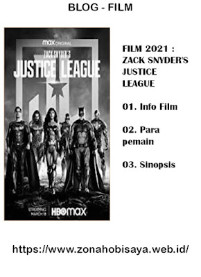Sinopsis Film Terbaru 2021 Zack Snyder's Justice League