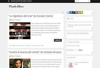 Mundo Libros, un blog dedicado a los libros