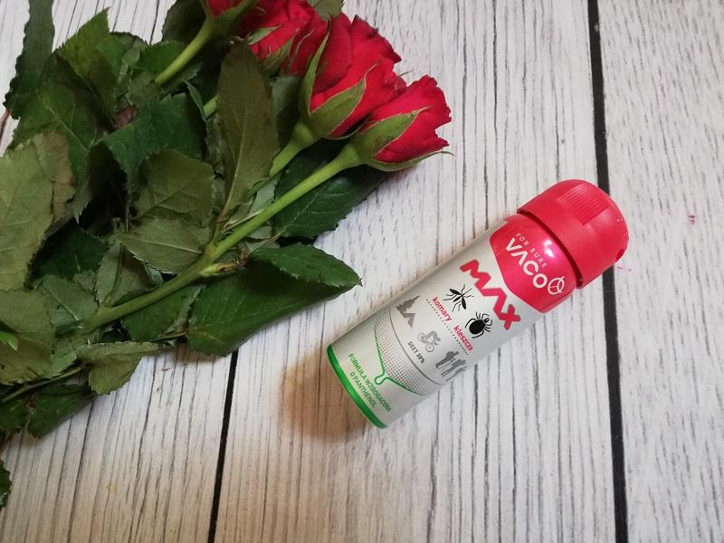 Vaco Spray Max na komary, kleszcze i meszki