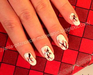 zdobienie paznokci lakierem