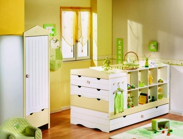 cuarto decorado bebé