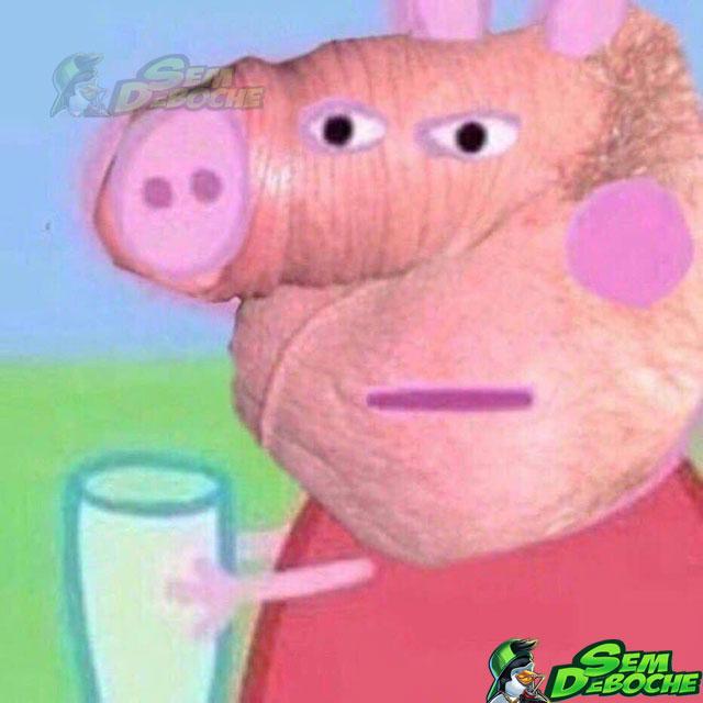 Peppa Pig tá um pouco diferente